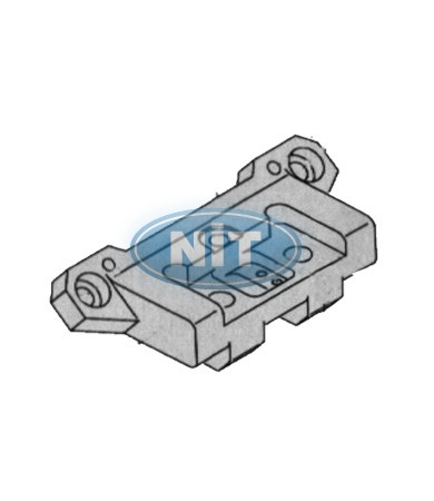 Carriage Jointing Bracket  - Shima Seiki Spare Parts  Needle Bed Connectors
