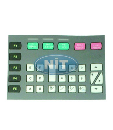 Keyboard SES 234-236-122  - Shima Seiki Spare Parts  Needle Breakage Switches,Cables & Disk Drives