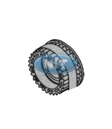 Pulley  Üst / Upper  - Shima Seiki Spare Parts  Gears, Belts & Bearings