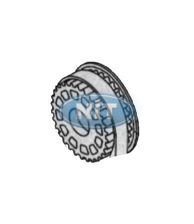 Pulley  Üst /Upper  - Shima Seiki Spare Parts  Gears, Belts & Bearings