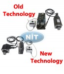 NIT Electronics (R/D) Research &Development Works Servo Motor & Driver  SES 234  /  236