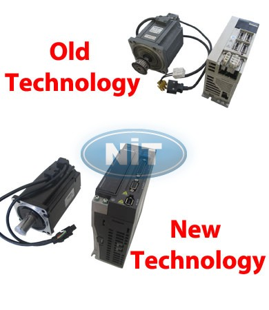 Servo System & Driver  SFJ/ SFF  202 / 152  - NIT Electronics (R/D) Research &Development Works