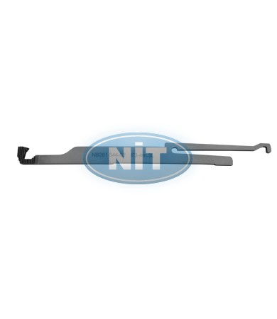 Tuck Needle on the Left  E3-4m.4L (L) - Spare Parts for STOLL Machines Yarn Holders & Yarn Cutters