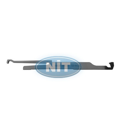Tuck Needle on the Right  E3-4m.4L (R) - Spare Parts for STOLL Machines Yarn Holders & Yarn Cutters