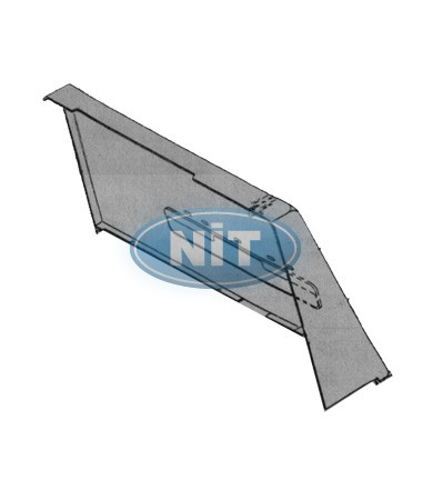 Up Side Cover  Transparent Üst/Upper (R) - Shima Seiki Spare Parts  Tensions & Covers