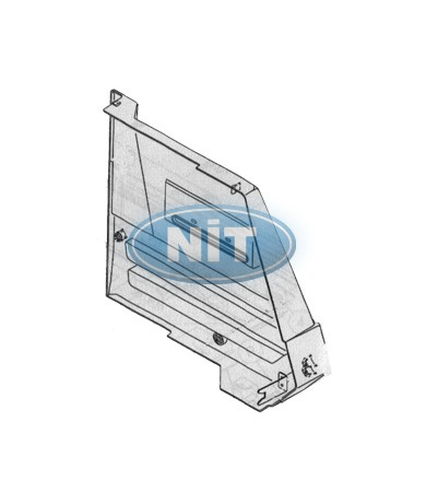 Up Side Cover Transparent Üst /Upper (R) - Shima Seiki Spare Parts  Tensions & Covers